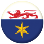Hobart Flag 25mm Button Badge